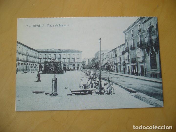 TAFALLA (NAVARRA) - PLAZA DE NAVARRA (COLECC. EDITADA POR CAJA DE NAVARRA/DIARIO DE NOTICIAS) (Postales - España - Navarra Moderna (desde 1.940))