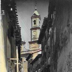 Cartoline: POSTAL COLOREADA * CORELLA, PARROQUIA DE SAN MIGUEL *. Lote 223725103