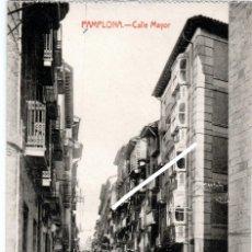 Postais: PRECIOSA POSTAL - PAMPLONA - CALLE MAYOR - EDICION COSGAYA. Lote 223996143