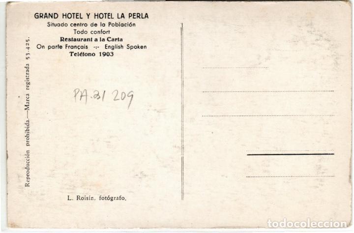 Postales: BONITA POSTAL - PAMPLONA - HOTEL LA PERLA - VESTIBULO - Foto 2 - 223999770