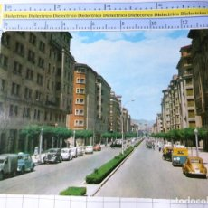 Cartes Postales: POSTAL DE NAVARRA. AÑO 1962. PAMPLONA AVENIDA DE CARLOS III. 26 VAQUERO. COCHES ANTIGUOS 1208. Lote 224400720