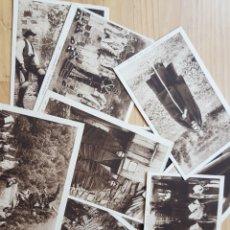 Postales: LOTE DE 12 PSOTALES COSTUMBRISTAS RONCAL OCHAGAVIA PRECIOSAS AÑOS 30 LP7. Lote 197192126