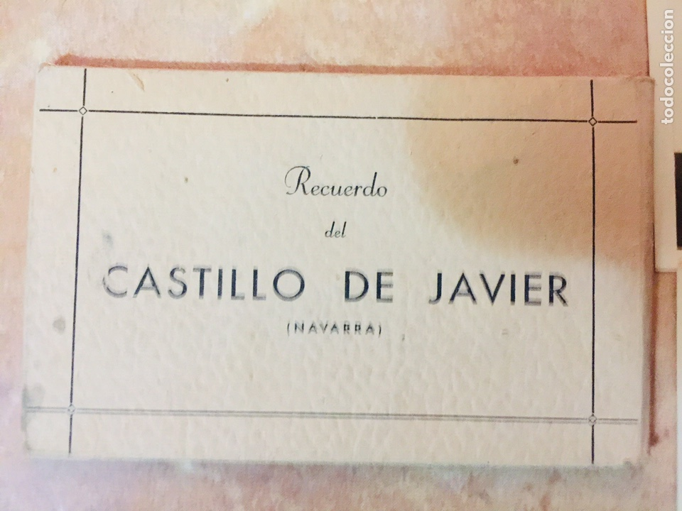 RECUERDO DEL CASTILLO DE JAVIER (NAVARRA) 10 POSTALES (Postales - España - Navarra Antigua (hasta 1.939))