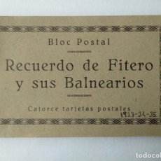 Postales: RECUERDO DE FITERO (NAVARRA) Y SUS BALNEARIOS- 14 POSTALES. Lote 225338805
