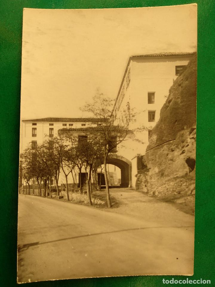 FITERO (NAVARRA).- POSTAL FOTOGRAFICA -ACCESO A LOS BAÑOS NUEVOS (Postales - España - Navarra Moderna (desde 1.940))