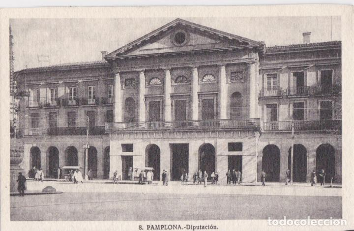 PAMPLONA, DIPUTACIÓN - L.ROISIN, FOTÓGRAFO Nº8 - S/C (Postales - España - Navarra Antigua (hasta 1.939))