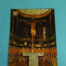 Postales: POSTAL SANTO CRISTODE XAVIER. CASTILLO DE XAVIER. ESCUDO DE ORO. Lote 229565315
