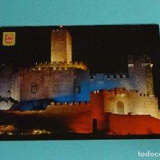 Postales: POSTAL LUZ Y SONIDO. CASTILLO DE JAVIER. ESCUDO DE ORO. Lote 229565680