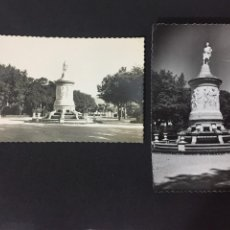 Postales: PAMPLONA - LOTE DE 2 POSTALES MONUMENTO A JULIÁN GAYARRE - ED. DARVI. Lote 230062670