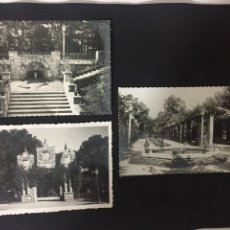 Postales: PAMPLONA - LOTE DE 3 POSTALES JARDINES DE LA TACONERA - ED. DARVI. Lote 230728950