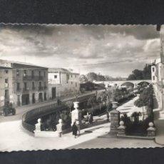 Postales: TUDELA - PASEO DEL GENERALÍSIMO FRANCO - Nº 25 ED. DARVI. Lote 231605210