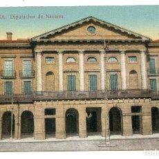 Postales: PAMPLONA. DIPUTACIÓN DE NAVARRA, EDICIÓN ANTONIO ECHAIDE. Lote 232705465