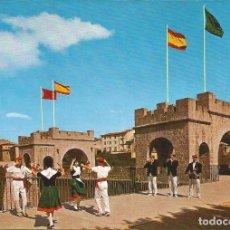 Cartoline: [POSTAL] PORTAL NUEVO CON LOS GAITEROS DE ESTELLA. PAMPLONA (NAVARRA) (SIN CIRCULAR). Lote 232874670