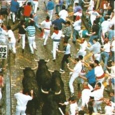 Cartoline: [POSTAL] 'ENCIERRO'. FIESTAS DE SAN FERMÍN. PAMPLONA (NAVARRA) (SIN CIRCULAR). Lote 232925060