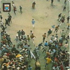 Cartes Postales: [POSTAL] EL ENCIERRO. PAMPLONA (NAVARRA) AÑO 1972 (CIRCULADA). Lote 233058735