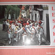 Postales: Nº 4676 POSTAL SESAKA FIESTAS DE SAN FERMIN PAMPLONA LESACA. Lote 233375885