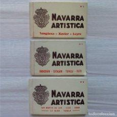 Postales: LOTE 3 BLOC CON 60 POSTALES DE NAVARRA. L. ROISIN. FOTOGRAFO. BARCELONA. PRINCIPIOS 1900.. Lote 233926225
