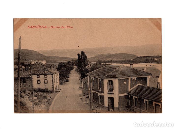 SANGÜESA.(NAVARRA).- BARRIO DE ULTRA. (Postales - España - Navarra Antigua (hasta 1.939))