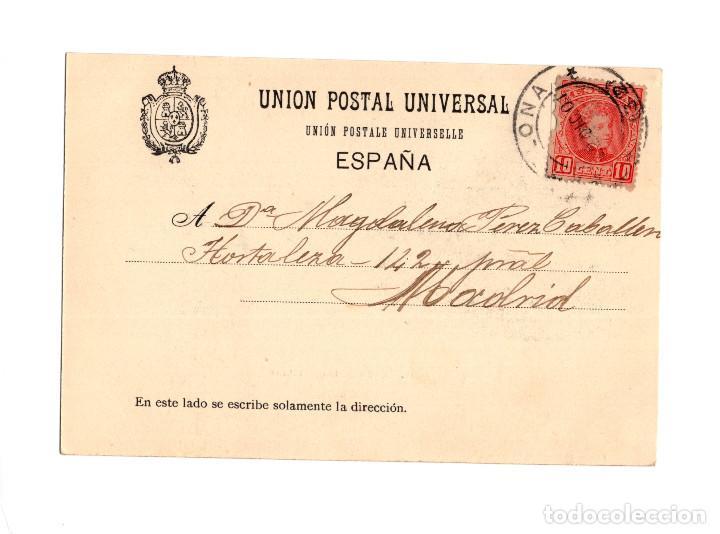 Postales: PAMPLONA.- PLAZA DEL CASTILLO. - Foto 2 - 234762300