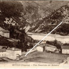 Postales: BONITA POSTAL - BETELU (NAVARRA) - VISTA PANORAMICA DEL BALNEARIO - COLECCION D.M.L.. Lote 235176370