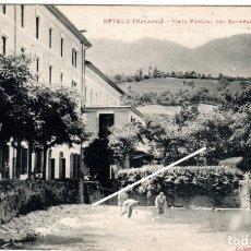 Postales: BONITA POSTAL - BETELU (NAVARRA) - VISTA PARCIAL DEL BALNEARIO - COLECCION D.M.L.. Lote 235177025