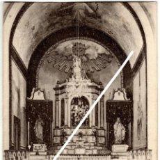 Postales: BONITA POSTAL - BETELU (NAVARRA) - ALTAR MAYOR DE LA CAPILLA DEL BALNEARIO - COLECCION D.M.L.. Lote 235179190