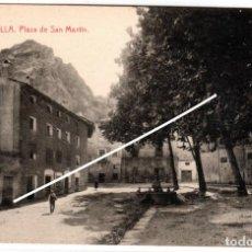 Postales: BONITA POSTAL - ESTELLA (NAVARRA) - PLAZA DE SAN MARTIN - EDICION GARBAYO. Lote 235190560