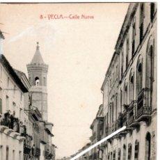 Postales: PRECIOSA POSTAL - YECLA (MURCIA) - CALLE NUEVA - FOTO RIPOLL. Lote 235369190