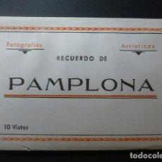 Postales: PAMPLONA NAVARRA CUADERNO 10 POSTALES ARRIBAS EDITOR. Lote 236057120