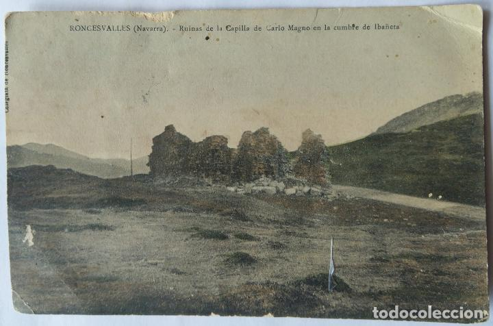RONCESVALLES (Postales - España - Navarra Antigua (hasta 1.939))