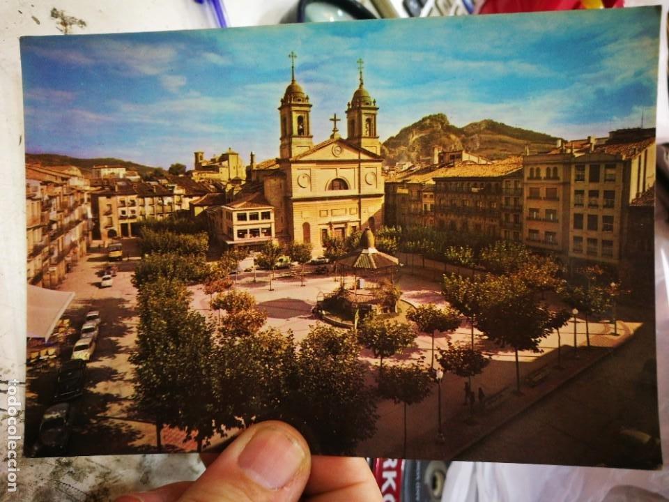 POSTAL ESTELLA PLAZA DE LOS FUEROS N 16 TOMAS S/C (Postales - España - Navarra Moderna (desde 1.940))