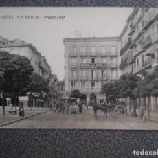 Postales: NAVARRA PAMPLONA HOTEL LA PERLA POSTAL ANTIGUA. Lote 237141800