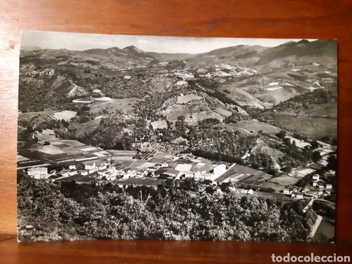 ANTIGUA POSTAL DE ORONOZ EN EL VALLE DEL BAZTAN EN NAVARRA (Postales - España - Navarra Moderna (desde 1.940))