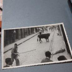 Postales: FOTO DE PAMPLONA, ENCIERROS. Lote 240255015