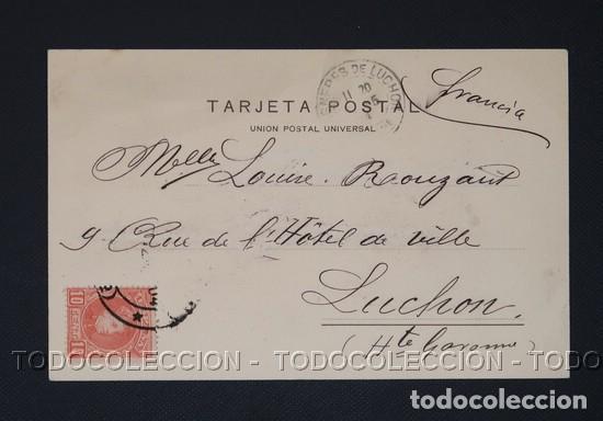 Postales: POSTAL PAMPLONA NAVARRA PASEO DE VALENCIA - EUSEBIO RUBIO CA 1900 - Foto 2 - 243207485