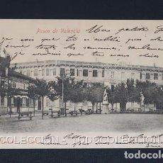 Postales: POSTAL PAMPLONA NAVARRA PASEO DE VALENCIA - EUSEBIO RUBIO CA 1900. Lote 243207485