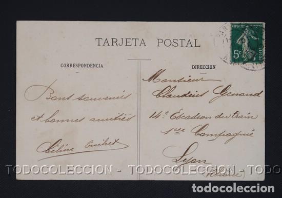 Postales: POSTAL URDAX URDAZUBI NAVARRA IGLESIA - CA 1910 - Foto 2 - 243207895