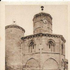 Postales: POSTAL ANTIGUA DE TORRE DEL RIO, IGLESIA DEL SANTO SEPULCRO NAVARRA. Lote 244197715