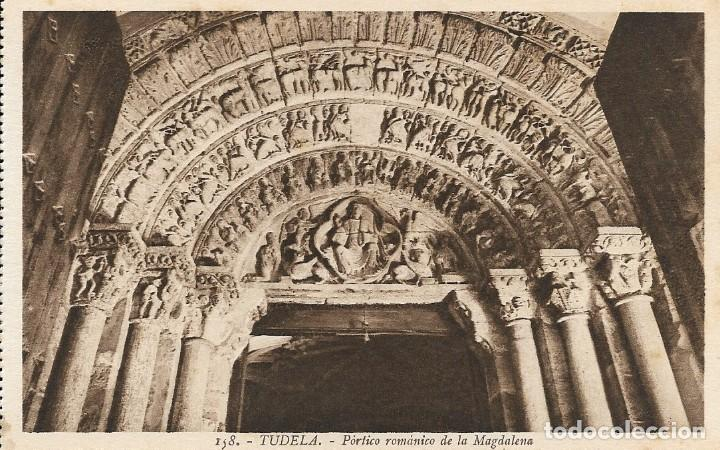 LOTE DE 3 POSTALES ANTIGUAS DE TUDELA, NAVARRA (Postales - España - Navarra Antigua (hasta 1.939))