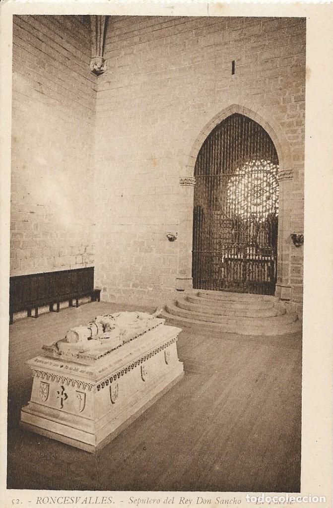LOTE DE 3 POSTALES ANTIGUAS DE RONCESVALLES. NAVARRA (Postales - España - Navarra Antigua (hasta 1.939))