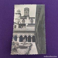 Postales: POSTAL DE TUDELA (NAVARRA). Nº29 CATEDRAL. PATIO DEL CLAUSTRO ROMANICO. EDIC SICILIA.. Lote 245426700