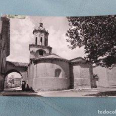 Postales: PUENTE DE LA REINA. IGLESIA DE EL CRUCIFIJO. SIGLO XII CIRCULADA.. Lote 245579275