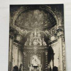 Postales: NAVARRA. FITERO. CAPILLA DE LA VIRGEN DE LA BARDA 1956. CIRCULADA. Lote 245987290