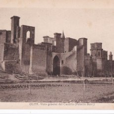 Postales: OLITE, VISTA GENERAL DEL CASTILLO. ED. ALMIRALL, FOTO ROISIN Nº 79. SIN CIRCULAR. Lote 246335665
