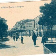 Postales: BONITA POSTAL - TUDELA (NAVARRA) - PUERTA DE ZARAGOZA - EDICION CASTILLA. Lote 248012800