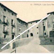 Postales: BONITA POSTAL - TAFALLA (NAVARRA) - CALLE SANTA MARIA. Lote 248615035