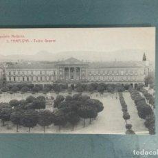 Postales: POSTAL 3 PAMPLONA. TEATRO GAYARRE.. Lote 251514105