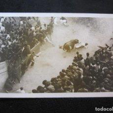 Postales: PAMPLONA-ENCIERRO-SAN FERMIN-FOTOGRAFICA-POSTAL ANTIGUA-(79.049). Lote 251882670