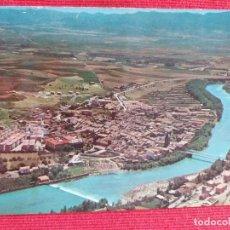 Postales: TARJETA POSTAL DE SANGÜESA VISTA AEREA NAVARRA. Lote 254001040