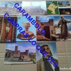 Postales: 9 POSTALES CASTILLO DE SAN JAVIER NAVARRA U44. Lote 254378505